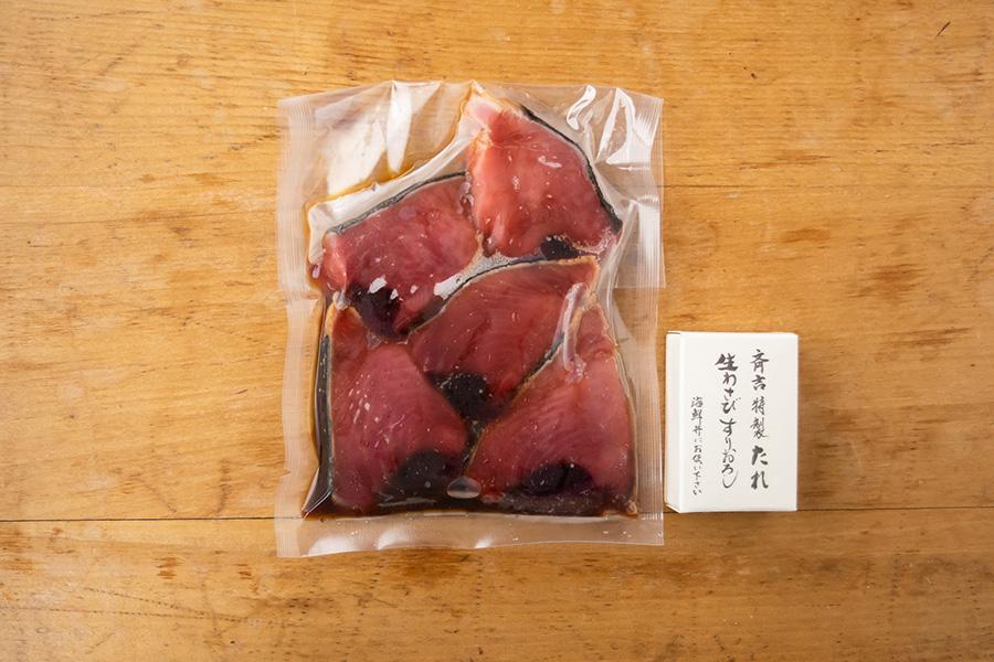 気仙沼産カツオたたき漬丼