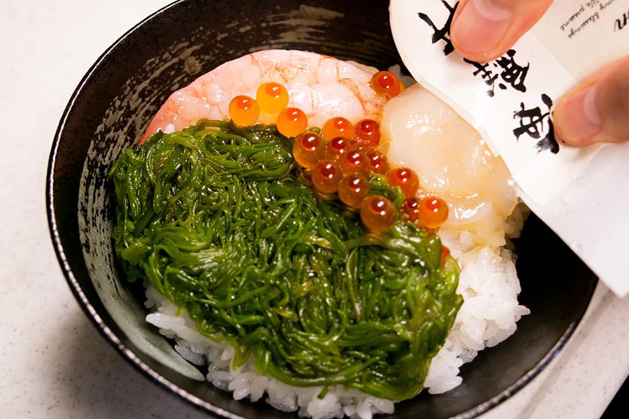 海鮮丼(甘海老)