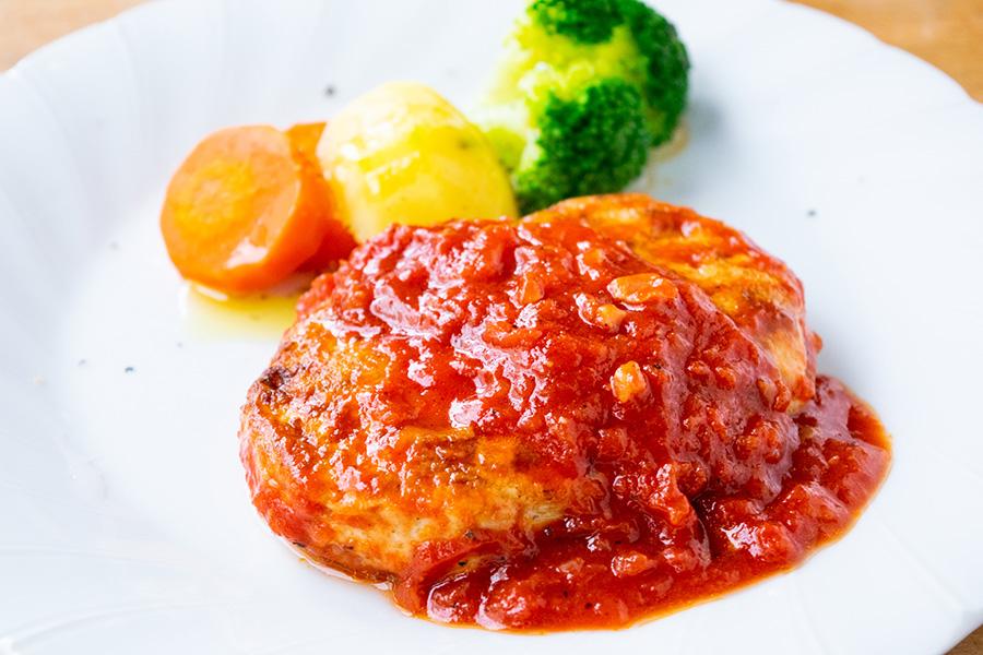 ハンバーグ トマト ソース 「トマト煮込みハンバーグ」の基本レシピ!おすすめ献立を添えて