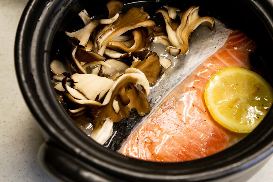 鮭レモンオイル漬け