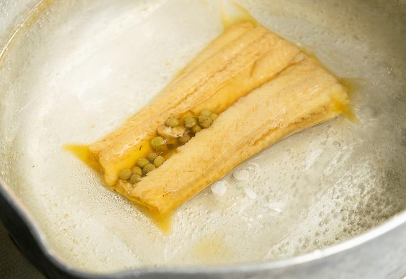 穴子山椒煮