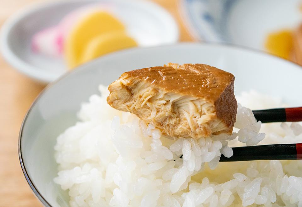 めかじき生姜煮
