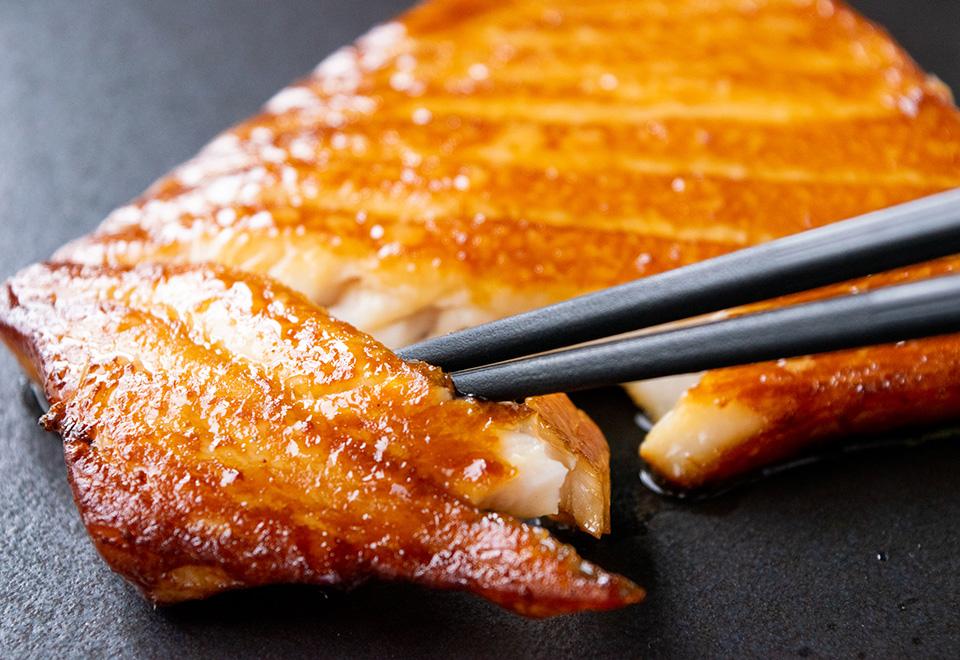 びんちょう鮪ハラミ・生姜醤油漬け