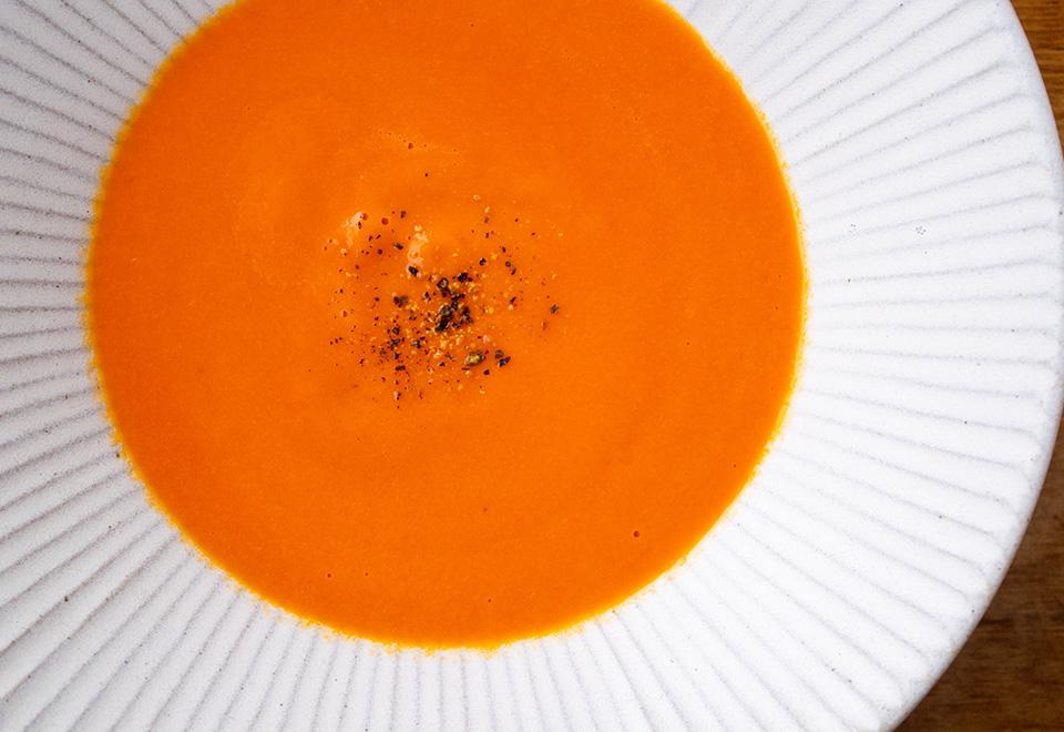 パプリカのポタージュスープ