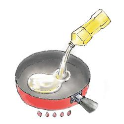 カツレツ焼き方